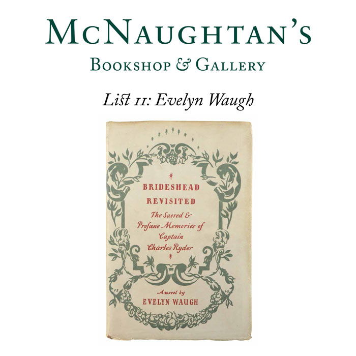 List 11: Evelyn Waugh